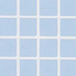 Baby Blue Tile Floor