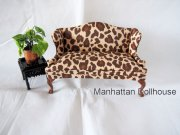 Leopard Print Couch