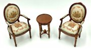 Sage Pascale 3 pc. set 2 chairs 1 table NWN