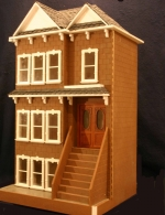 The Clairmont Dollhouse Kit-Front Opening