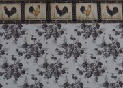 Dollhouse Wallpaper with Grapes and Border