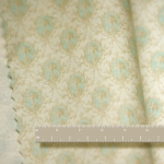 Turquoise Medallion Dollhouse Fabric