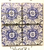 Vietri Miniature Tile Set
