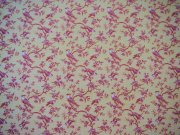 Half Inch Dollhouse Wallpaper, Rose and Yellow