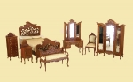 The Art Noveau Lace Bedroom Set by Bespaq