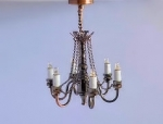 Black and Copper Chandelier