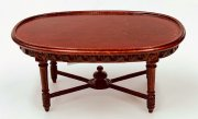 Bespaq Pascale coffee table 2302 Mahogany