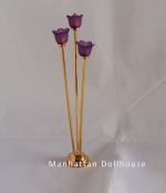 Tribecca Floor Lamp in Purple