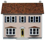 Bay Harbor Front Opening Dollhouse Kit