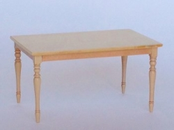 Bespaq Belle Farm Table in a Natural Finish