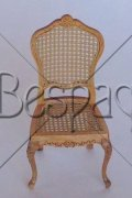 Mimi Cane Chair in Natural, by Maritza for Bespaq