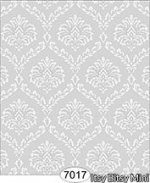 Dollhouse Damask Wallpaper