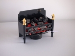 Battery-Operated Fireplace Insert for Dollhouses