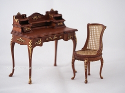 Anastasia Writing Desk and Chair by Bespaq
