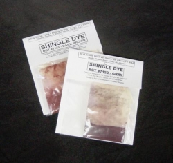 Gray Shingle Dye for Dollhouses