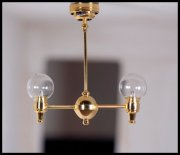 Central Park Dollhouse Ceiling Light-Natural Bright Light-C31 CL