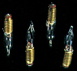 12V Candelflame Screw Base Bulbs 4 PK