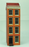 Cornice Facacde Amsterdam Canal House 144th Scale