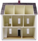 1/2 Inch Scale Colonial Dollhouse Kit
