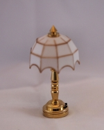Tiffany Style White Table Lamp T1