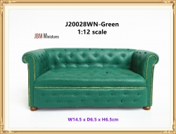 Contemporary Chesterfield lounge mid 1800s Green
