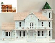 Lady Kathleen Victorian Dollhouse Kit with Addition Kit