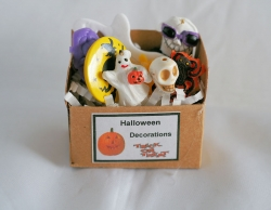 Miniature Halloween Decoration Box #2