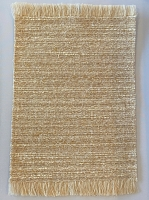 Dollhouse Natural Collection Rug - Striped Beige