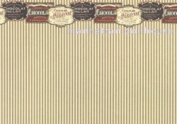 French Chocolate Dollhouse Wallpaper 5 601c