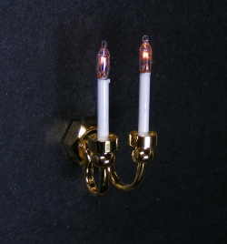 Dollhouse-Dual Candle Grande Wall Sconce