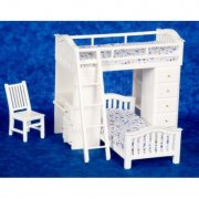 Dollhouse Bunkbed Set