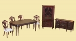 The Adam Dining Room Set by Bespaq