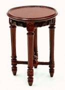 Bespaq Pascale side table - Mahogany