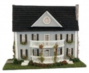 Classic Colonial Dollhouse 144th Scale
