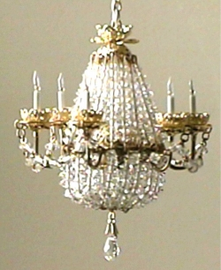 Rosel's Chandeliers - Miniature Lamps for Miniature Homes