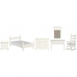 Dollhouse 5 Piece Bedroom Set
