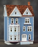 1/2 Scale, Front Opening East Side Townhouse Dollhouse Kit