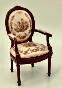 Chair - Pasquale in Soft Rose Mahogany 2301