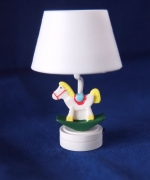 Rocking Horse Nursery Dollhouse Lamp-Battery Operated T26