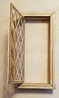 Dollhouse Working Casement Window