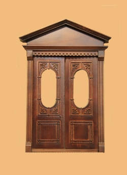 Bancroft Double Door in New Walnut