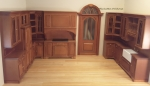 Miniature Cambridge Manor Kitchen Set, Cherry Finish