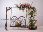 Miniature Flowered Garden Swing