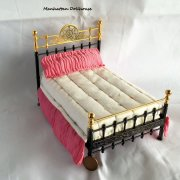 Dressed_ Brass_Miniature_Bed