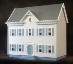 The Montclair Dollhouse Kit-Smooth Plywood