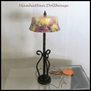 Miniature Floor Lamp-Grape Heaven