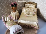 Unique Miniature Bedroom Set by Serena Johnson- 4piece