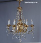 Delmonico 6-Arm Crystal Chandelier