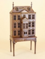 Pickering Manor in New Walnut 144 Scale