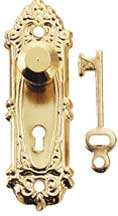 Opryland Key Plate and Knob